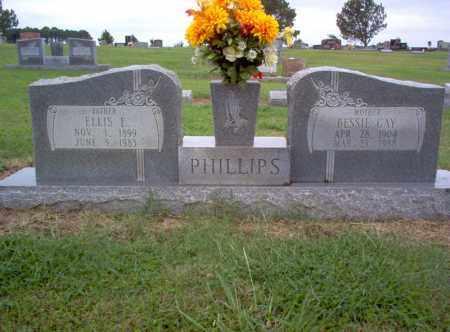 PHILLIPS, ELLIS E - Cross County, Arkansas | ELLIS E PHILLIPS - Arkansas Gravestone Photos