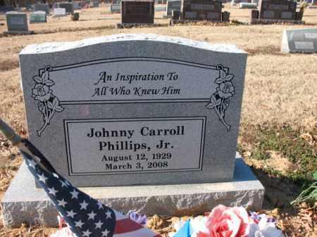 "PHILLIPS, JR, JOHN CARROLL  ""JOHNNY"" - Cross County, Arkansas   JOHN CARROLL  ""JOHNNY"" PHILLIPS, JR - Arkansas Gravestone Photos"