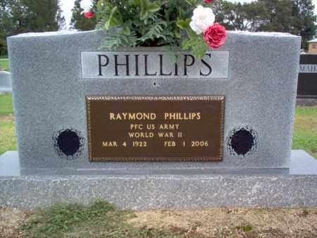 PHILLIPS (VETERAN WWII), RAYMOND - Cross County, Arkansas   RAYMOND PHILLIPS (VETERAN WWII) - Arkansas Gravestone Photos