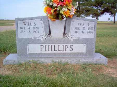 PHILLIPS, WILLIS - Cross County, Arkansas | WILLIS PHILLIPS - Arkansas Gravestone Photos