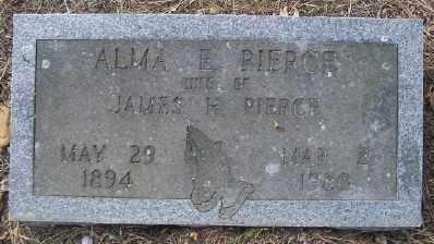 PIERCE, ALMA E. - Cross County, Arkansas   ALMA E. PIERCE - Arkansas Gravestone Photos