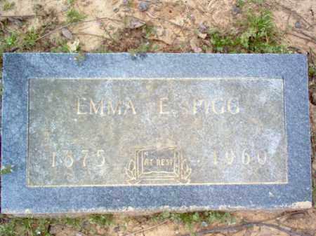 PIGG, EMMA E - Cross County, Arkansas | EMMA E PIGG - Arkansas Gravestone Photos