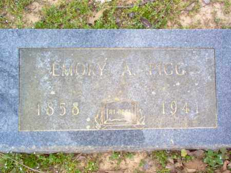 PIGG, EMORY A - Cross County, Arkansas   EMORY A PIGG - Arkansas Gravestone Photos