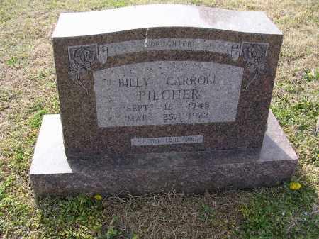 PILCHER, BILLY CARROLL - Cross County, Arkansas | BILLY CARROLL PILCHER - Arkansas Gravestone Photos