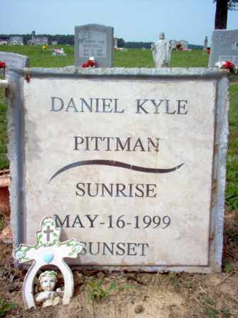 PITTMAN, DANIEL KYLE - Cross County, Arkansas | DANIEL KYLE PITTMAN - Arkansas Gravestone Photos