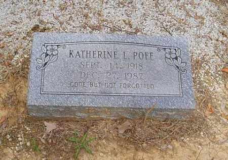 POFF, KATHERINE L. - Cross County, Arkansas | KATHERINE L. POFF - Arkansas Gravestone Photos