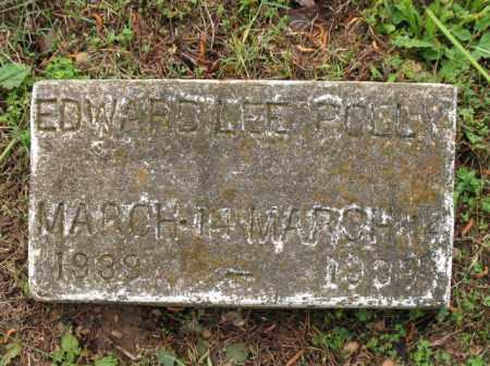 POLLY, EDWARD LEE - Cross County, Arkansas   EDWARD LEE POLLY - Arkansas Gravestone Photos