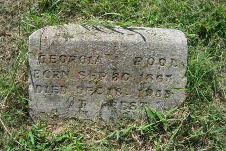 POOL, GEORGIA - Cross County, Arkansas | GEORGIA POOL - Arkansas Gravestone Photos