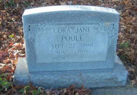 POOLE, CORA JANE - Cross County, Arkansas   CORA JANE POOLE - Arkansas Gravestone Photos