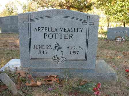 POTTER, ARZELLA - Cross County, Arkansas   ARZELLA POTTER - Arkansas Gravestone Photos