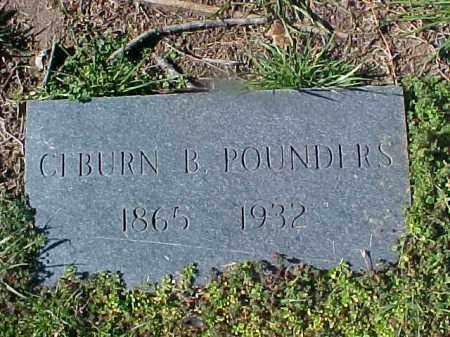 POUNDERS, CEBURN B - Cross County, Arkansas | CEBURN B POUNDERS - Arkansas Gravestone Photos