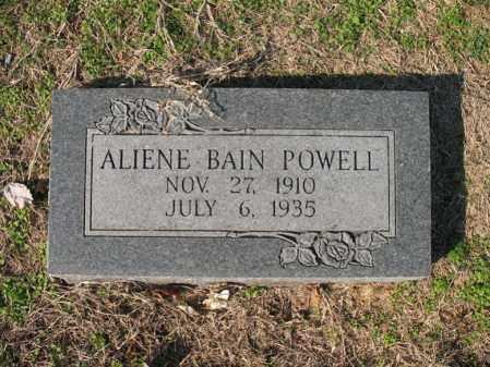 BAIN POWELL, ALIENE - Cross County, Arkansas   ALIENE BAIN POWELL - Arkansas Gravestone Photos