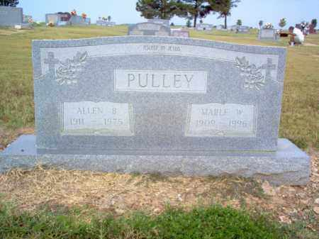 PULLEY, ALLEN B - Cross County, Arkansas | ALLEN B PULLEY - Arkansas Gravestone Photos