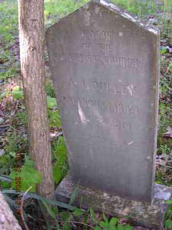 PULLEY  (VETERAN CSA), A I - Cross County, Arkansas | A I PULLEY  (VETERAN CSA) - Arkansas Gravestone Photos