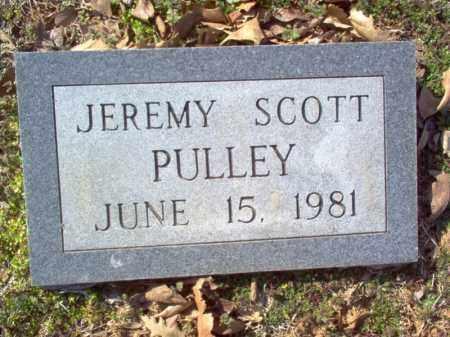 PULLEY, JEREMY SCOTT - Cross County, Arkansas   JEREMY SCOTT PULLEY - Arkansas Gravestone Photos