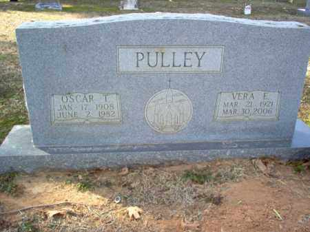 PULLEY, VERA E - Cross County, Arkansas | VERA E PULLEY - Arkansas Gravestone Photos
