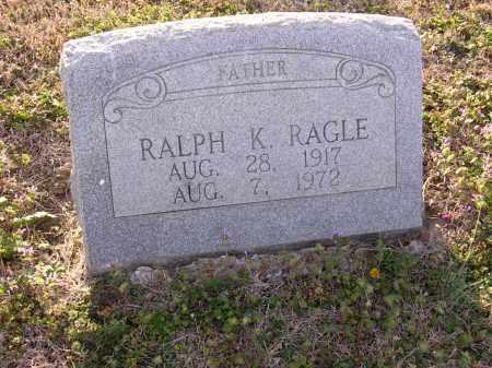 RAGLE, RALPH K - Cross County, Arkansas   RALPH K RAGLE - Arkansas Gravestone Photos