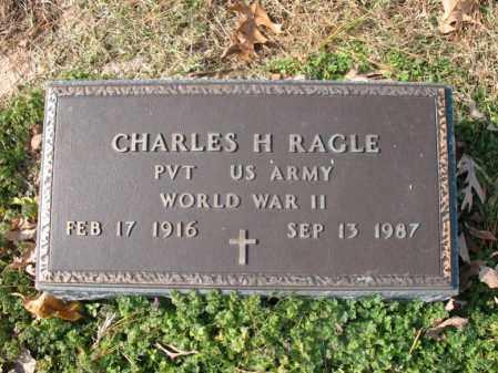 RAGLE (VETERAN WWII), CHARLES H - Cross County, Arkansas | CHARLES H RAGLE (VETERAN WWII) - Arkansas Gravestone Photos
