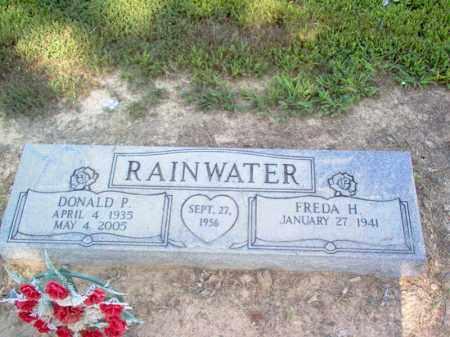 RAINWATER, DONALD P - Cross County, Arkansas | DONALD P RAINWATER - Arkansas Gravestone Photos