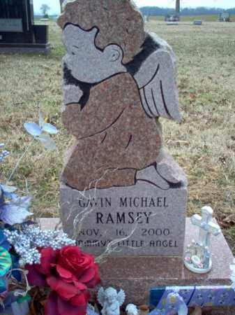 RAMSEY, GAVIN MICHAEL - Cross County, Arkansas | GAVIN MICHAEL RAMSEY - Arkansas Gravestone Photos