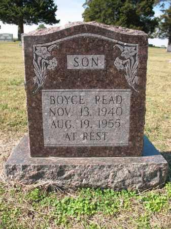 READ, BOYCE - Cross County, Arkansas   BOYCE READ - Arkansas Gravestone Photos