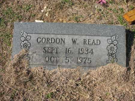 READ, GORDON W - Cross County, Arkansas | GORDON W READ - Arkansas Gravestone Photos