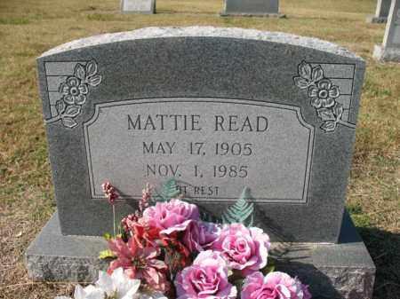 READ, MATTIE - Cross County, Arkansas | MATTIE READ - Arkansas Gravestone Photos