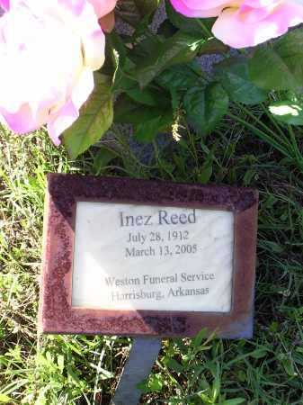 REED, INEZ - Cross County, Arkansas | INEZ REED - Arkansas Gravestone Photos