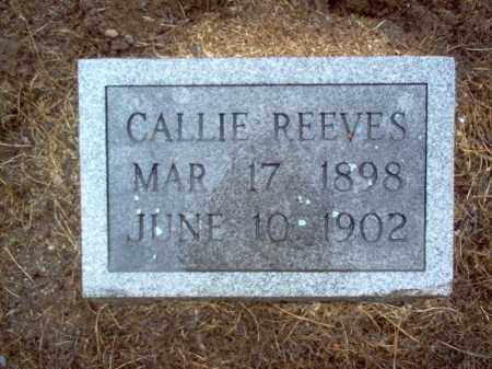 REEVES, CALLIE - Cross County, Arkansas | CALLIE REEVES - Arkansas Gravestone Photos