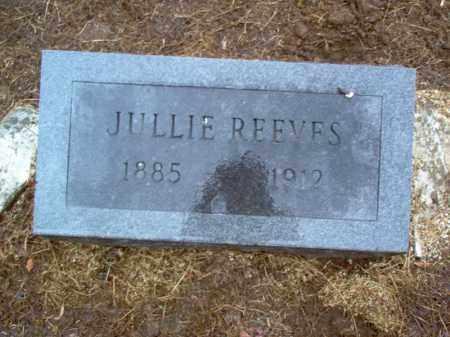 REEVES, JULLIE - Cross County, Arkansas | JULLIE REEVES - Arkansas Gravestone Photos