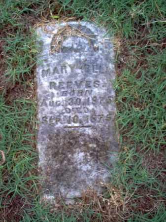 REEVES, MARY BELL - Cross County, Arkansas | MARY BELL REEVES - Arkansas Gravestone Photos