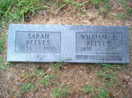 REEVES, SARAH - Cross County, Arkansas   SARAH REEVES - Arkansas Gravestone Photos
