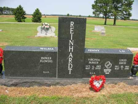 REINHARDT, LOUIS DAVID - Cross County, Arkansas | LOUIS DAVID REINHARDT - Arkansas Gravestone Photos