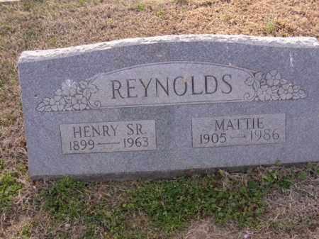 REYNOLDS, MATTIE - Cross County, Arkansas | MATTIE REYNOLDS - Arkansas Gravestone Photos