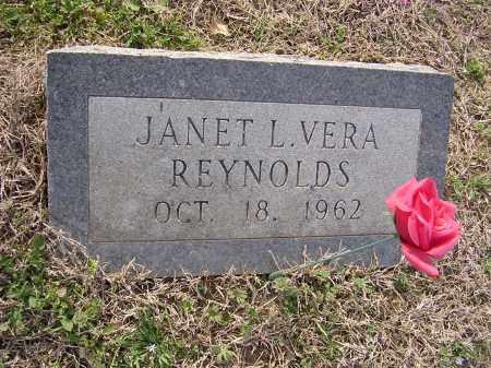 REYNOLDS, JANET L VERA - Cross County, Arkansas | JANET L VERA REYNOLDS - Arkansas Gravestone Photos