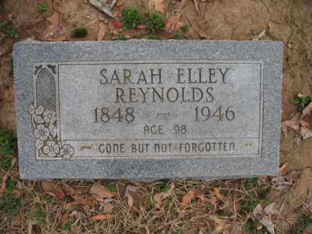 REYNOLDS, SARAH ELLEY - Cross County, Arkansas | SARAH ELLEY REYNOLDS - Arkansas Gravestone Photos