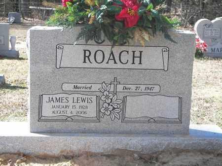 ROACH, JAMES LEWIS - Cross County, Arkansas   JAMES LEWIS ROACH - Arkansas Gravestone Photos