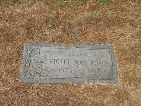 ROACH, VIOLET MAY - Cross County, Arkansas   VIOLET MAY ROACH - Arkansas Gravestone Photos