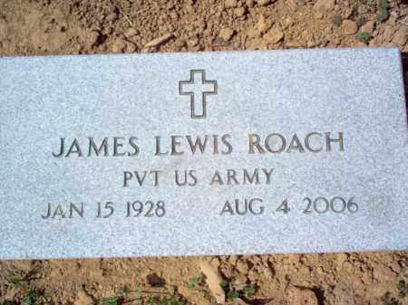 ROACH (VETERAN), JAMES LEWIS - Cross County, Arkansas | JAMES LEWIS ROACH (VETERAN) - Arkansas Gravestone Photos