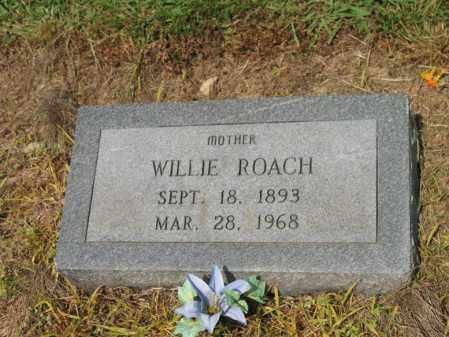 ROACH, WILLIE - Cross County, Arkansas | WILLIE ROACH - Arkansas Gravestone Photos
