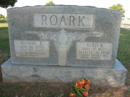 ROARK, MANNIE E - Cross County, Arkansas | MANNIE E ROARK - Arkansas Gravestone Photos