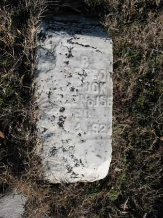 ROBERSON, R - Cross County, Arkansas | R ROBERSON - Arkansas Gravestone Photos