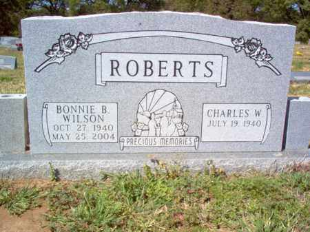 WILSON ROBERTS, BONNIE B - Cross County, Arkansas   BONNIE B WILSON ROBERTS - Arkansas Gravestone Photos