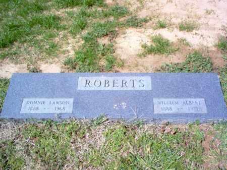 ROBERTS, DONNIE LAWSON - Cross County, Arkansas   DONNIE LAWSON ROBERTS - Arkansas Gravestone Photos