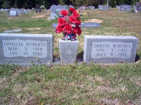 ROBERTS, OPHELIA - Cross County, Arkansas   OPHELIA ROBERTS - Arkansas Gravestone Photos