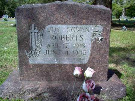 COWAN ROBERTS, JOY - Cross County, Arkansas   JOY COWAN ROBERTS - Arkansas Gravestone Photos