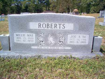 ROBERTS, SR., JOE A - Cross County, Arkansas | JOE A ROBERTS, SR. - Arkansas Gravestone Photos