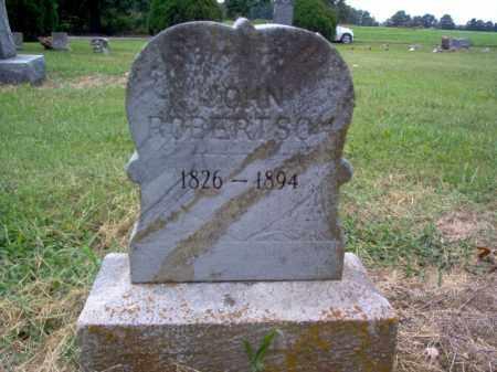 ROBERTSON, JOHN - Cross County, Arkansas | JOHN ROBERTSON - Arkansas Gravestone Photos