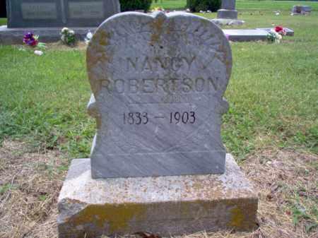 ROBERTSON, NANCY - Cross County, Arkansas   NANCY ROBERTSON - Arkansas Gravestone Photos