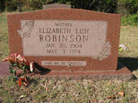 "ROBINSON, ELIZABETH ""LISH"" - Cross County, Arkansas 